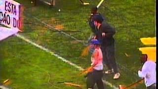 GUERRA DO PACAEMBU 1995 (São Paulo x Palmeiras): Matéria na Globo