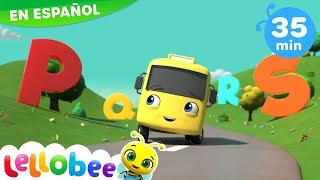 La Canción del ABC | Nanas para bebés | Buster en Español - Little Baby Bum