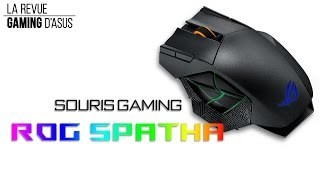La revue Gaming d'Asus - La souris gaming ROG Spatha