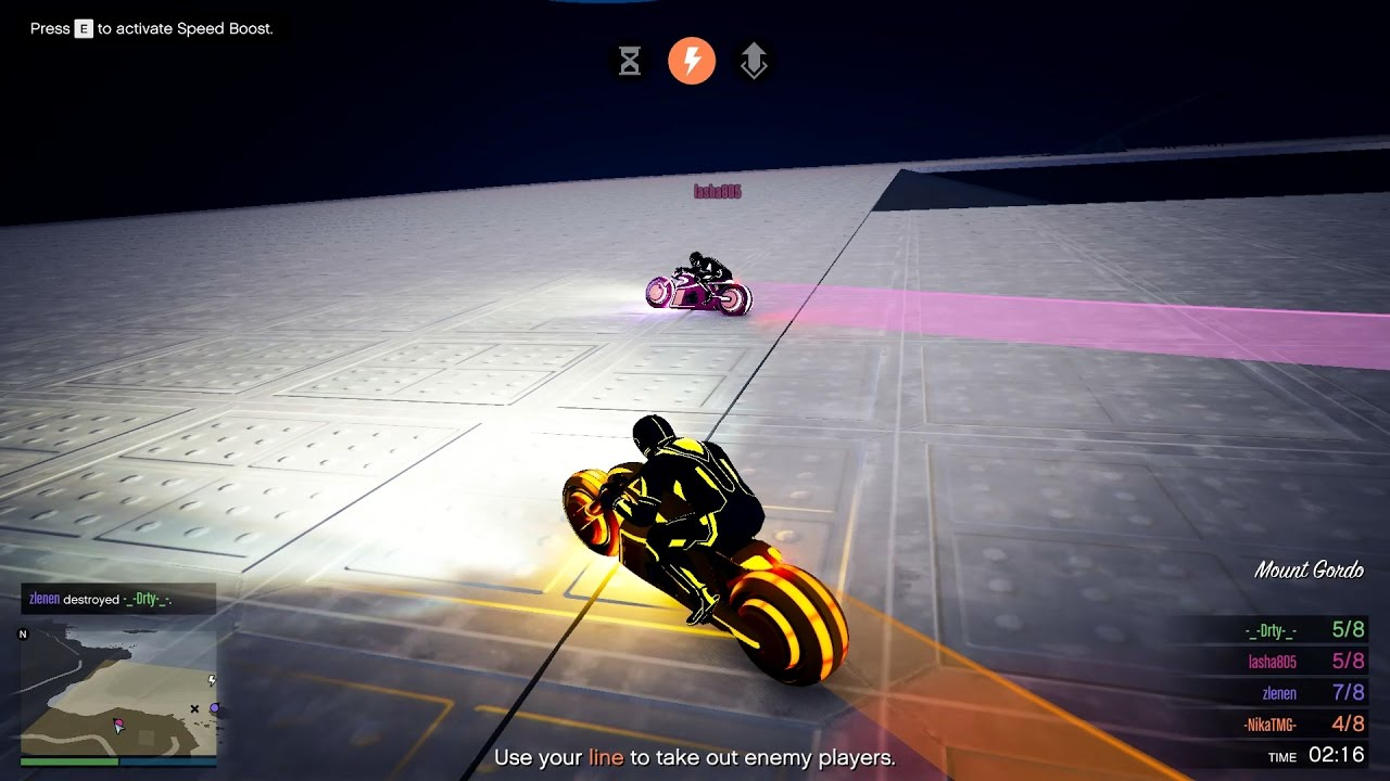 სიკვდილის ხაზი (GTA 5 Online ქართულად)