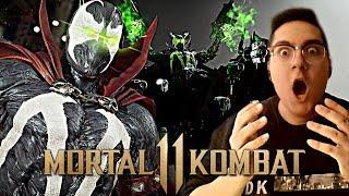 Mortal Kombat 11 - SPAWN GAMEPLAY TRAILER REACTION!