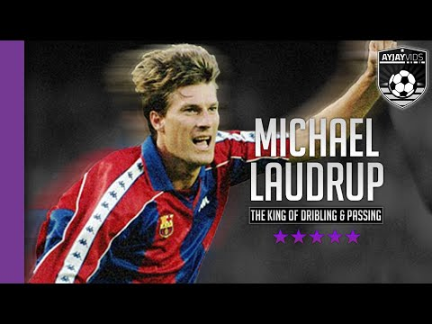 Michael Laudrup |The King Of Dribbling & Passing| HD | 1080p