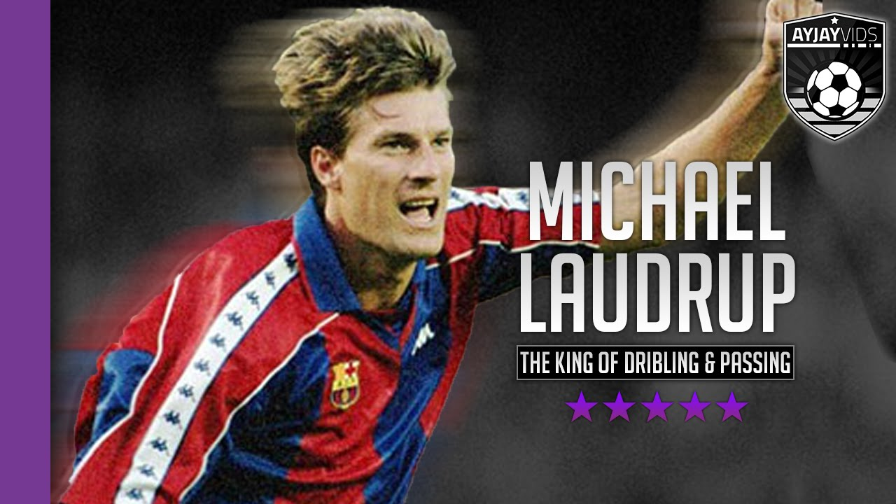 Michael Laudrup The King Dribbling & Passing HD