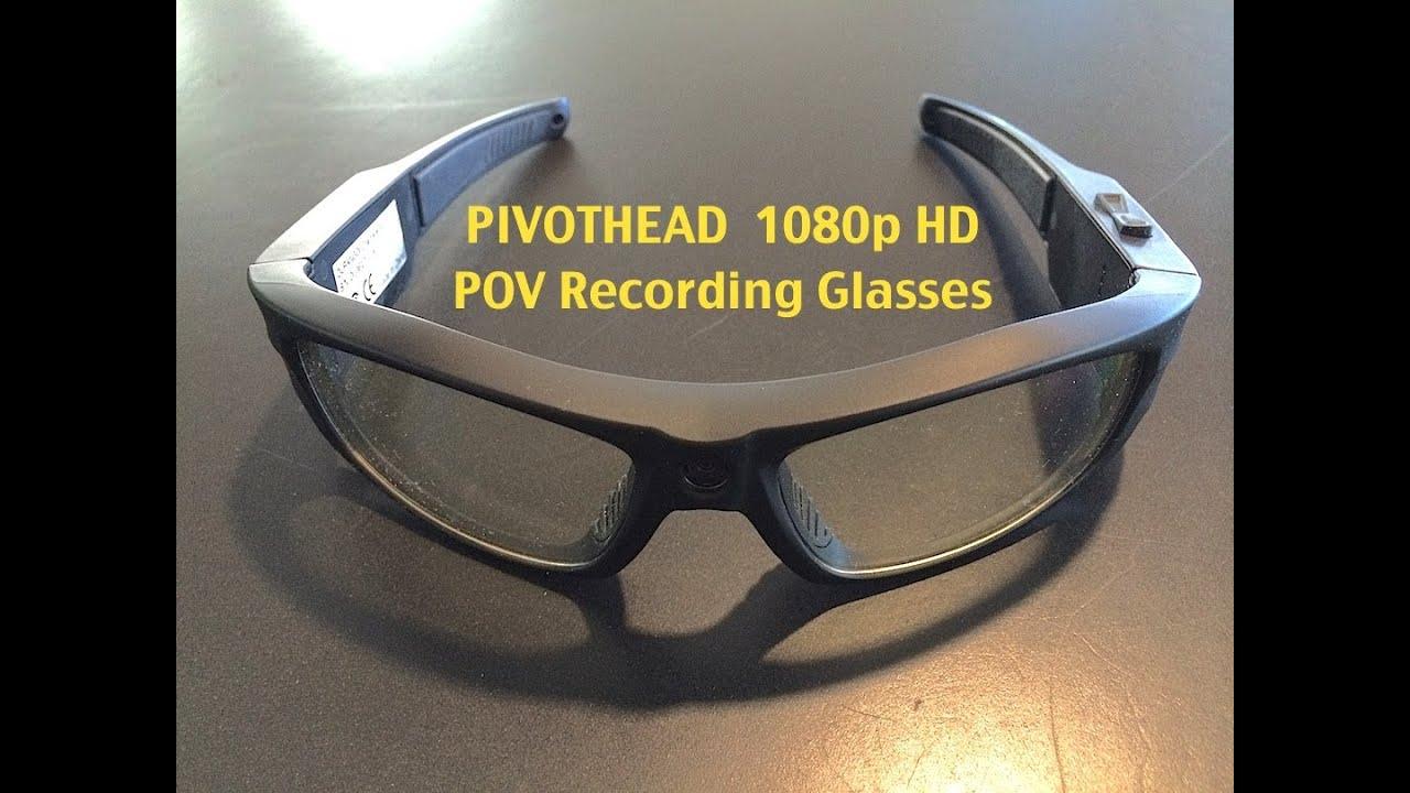 dbe0a73ad2cd Pivothead 1080p HD 8MP Video Recording Glasses - YouTube
