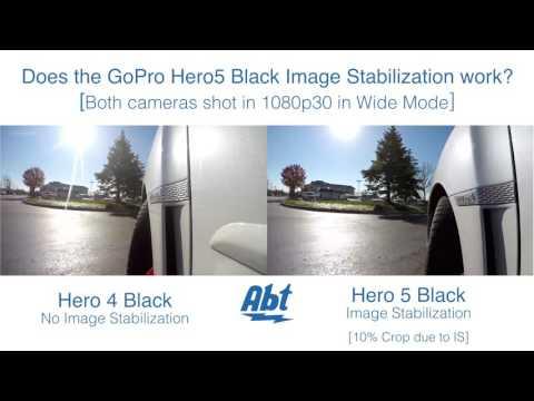 GoPro Image Stabilization - HERO4 Black vs HERO5 Black