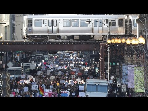 Women's March: Massive Protests Across U.S., World