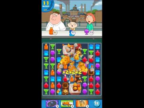 Family Guy Another Freakin Mobile Game Level 152 - NO BOOSTERS