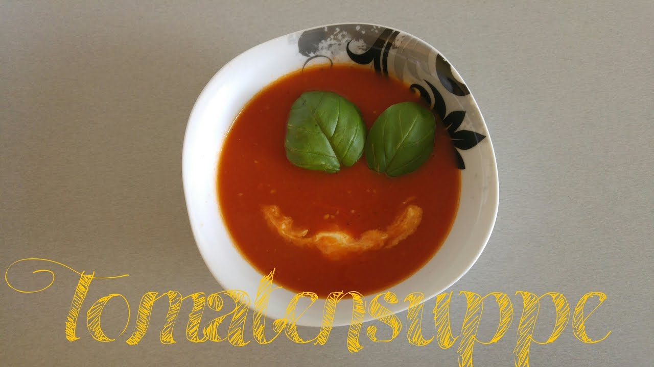 Tomatensuppe In Der Monsieur Cuisine Plus ähnlich Thermomix Youtube