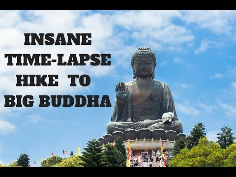 INSANE HIKING TO BIG BUDDHA  HONG KONG