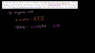 Word Problem Solving 3