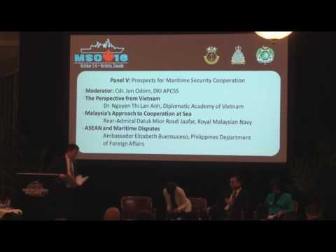 MSC16 Panel: Prospects for Maritime Security Cooperation