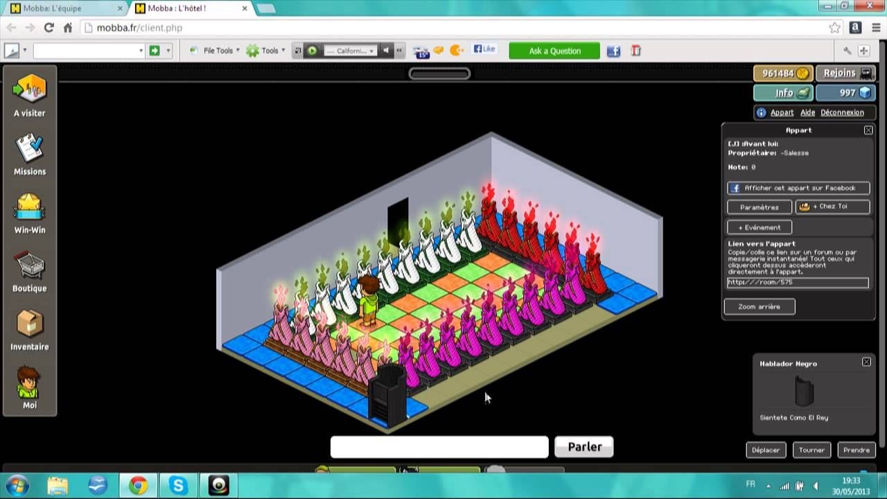 Watch construire le jeu avant lui habbo 2013 for Construire online