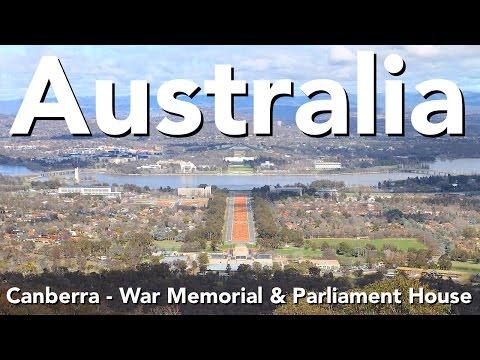 Australia - Canberra - War Memorial & Parliament House