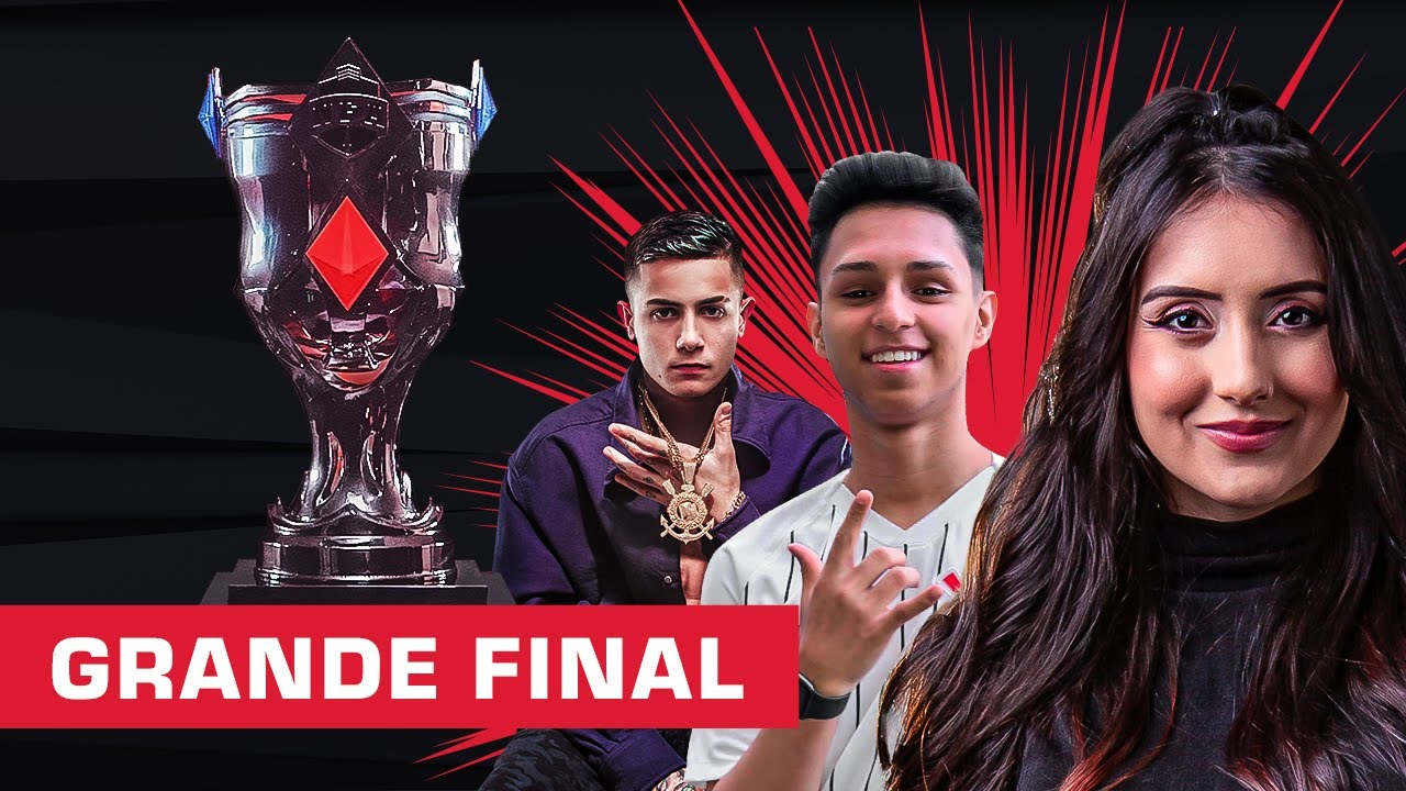 GRANDE FINAL LIGA NFA SEASON 4 - FREE FIRE AO VIVO #NFAS4