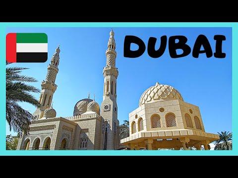 Dubai The Magnificent Jumeirah Mosque United Arab Emirates