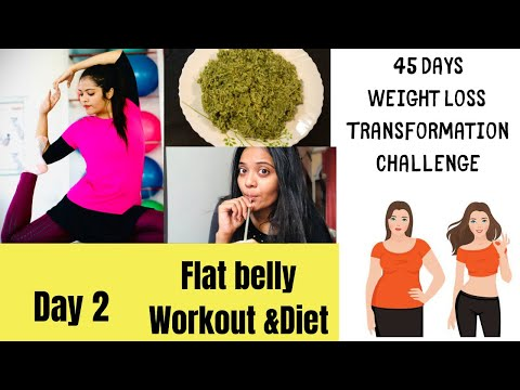reduce-belly-fat-|-day-2-|flat-belly-workout-&-diet-|-45-day-weight-loss-transformation|somyaluhadia