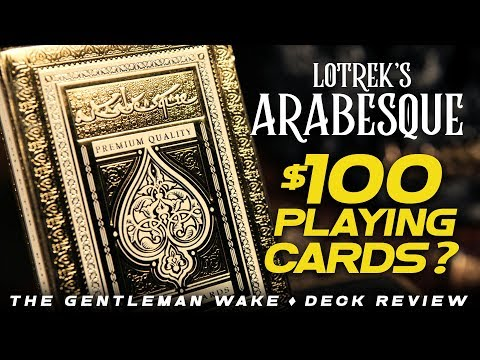 MOST BEAUTIFUL DECK OR MOST COSTLY MISTAKE? Arabesque Error Deck By Oath Playing Cards Review
