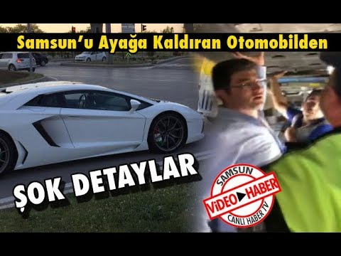 Samsun'u Ayağa Kaldıran Otomobilden Şok Detaylar!