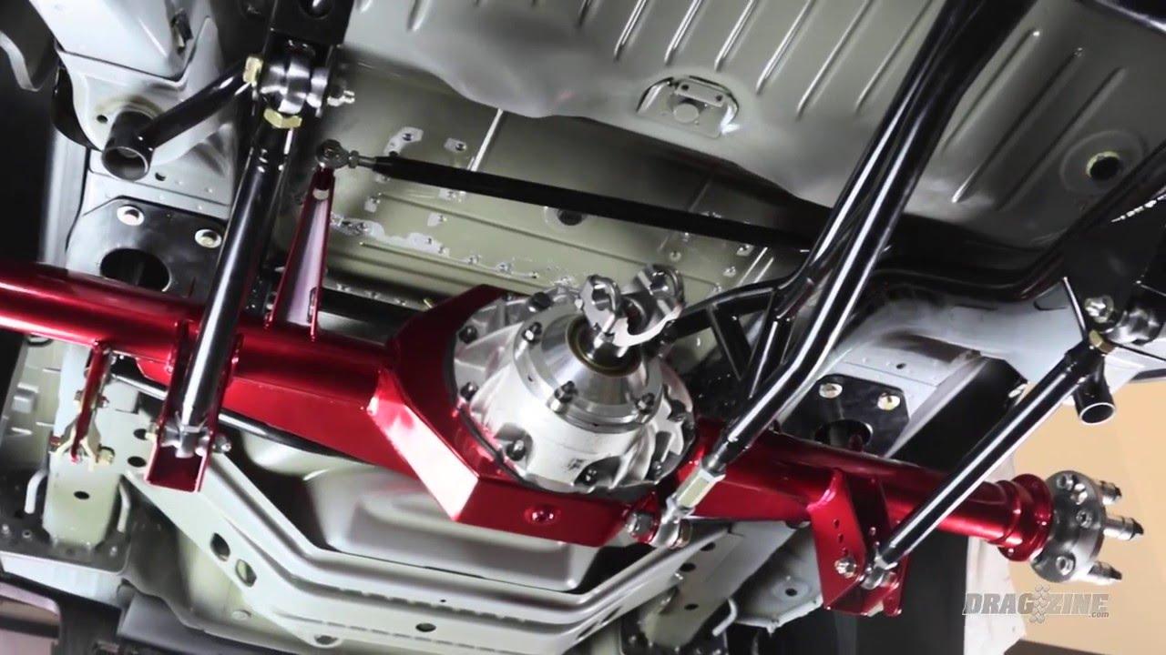 Moser engineering 5th gen copo camaro axle