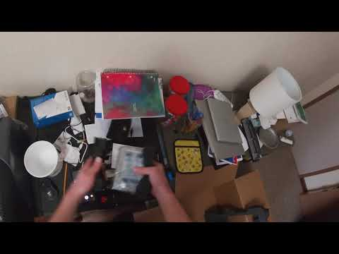 Dell Desktop Unboxing, HDD Install, and First Start