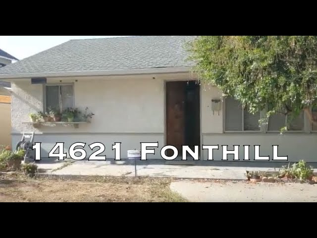 14621 Fonthill Ave, Hawthorne CA 90250