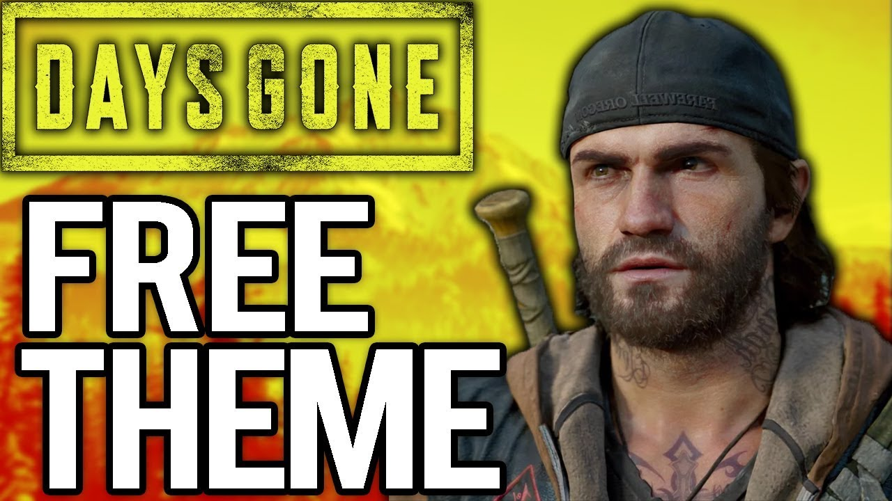 DAYS GONE Gameplay - NEW FREE THEME, Free Teddy Bear LIMITED TIME ONLY!