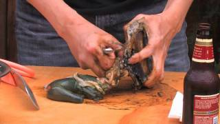 How To Clean An Abalone with Phil Tran
