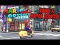 Super Mario Odyssey Riding A Motor Scooter