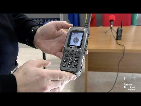 VÍDEO: La Policía Local de Lucena se equipa con el sistema de radiocomunicaciones de emergencias del Estado