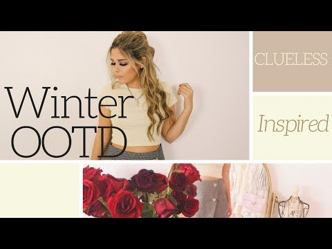 Clueless Inspired OOTD // Winter Fashion