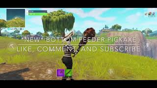*NEW* BOTTOM FEEDER FORTNITE PICKAXE SOUND EFFECTS AND GAMEPLAY! @xlPhilly