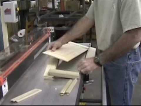EZ Door Raised Panel Cabinet Door Machine  YouTube