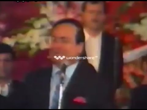 مؤسس الطرب صباح فخري - عرس آل بادنجكي عام 1992 - انا في سكرين - 9