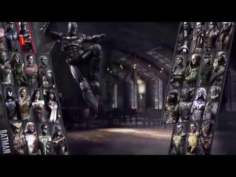 Injustice: Gods Among Us (DC Comics - Playsation 4) Gameplay Demo: BATMAN VS ARES