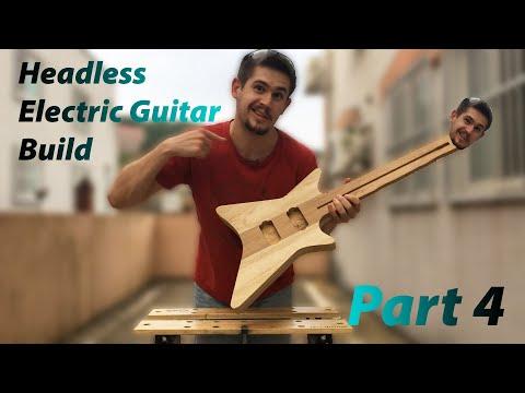 Headless Electric Guitar Build - Part 4