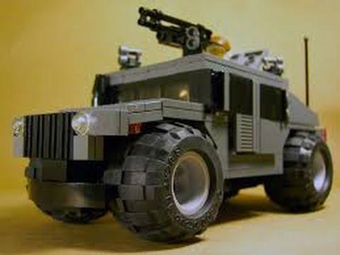 Lego Army Car How To Make A Lego Humvee Youtube