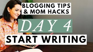Do This 1 THING Before You Start a Blog to Make Money● Blogging Tips & Mom Hacks Series DAY 4
