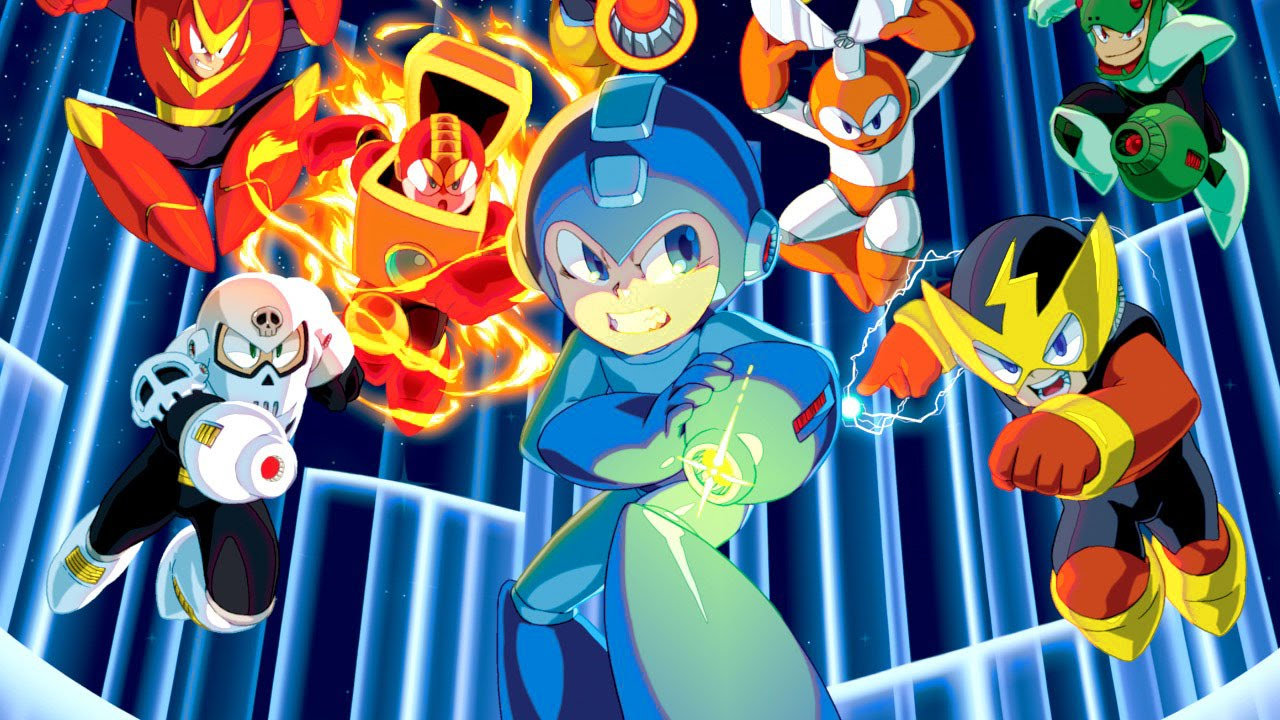 Mega Man Games