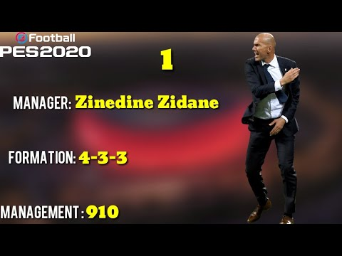 PES 2020 MyClub | Top 10 New Managers in Pes 2020 | Officially Confirmed  Mangers