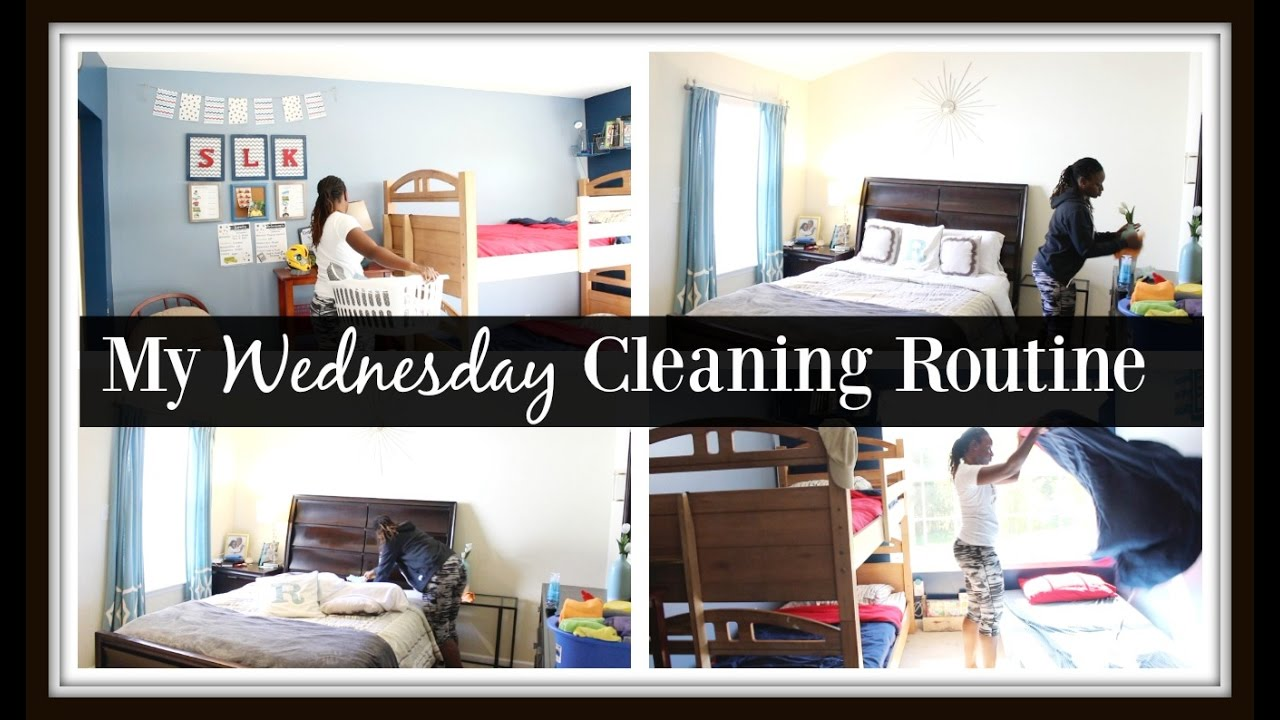 30 MINUTE a day CLEANING ROUTINE | WEDNESDAY - YouTube