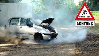Helium im Reifen - was passiert? | Dumm Tüch