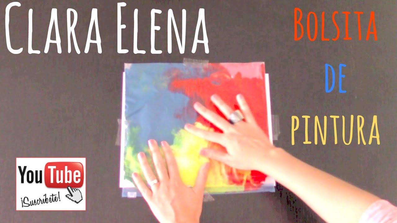 Bolsita de Pintura - Manualidades para niños pequeños