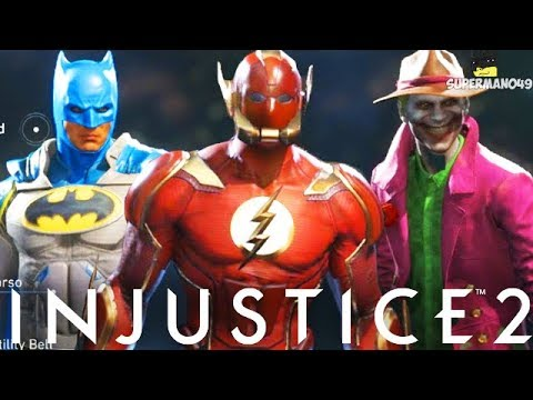 Injustice 2: Batman, The Flash, Joker & More Epic Gear Showcase For All Characters Including DLC