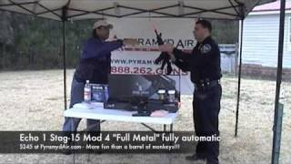 Airsoft Airguns Make For Great, Low Cost, Training For Police Department