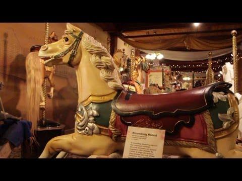 History Revolves Around New England Carousel Museum