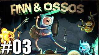 Finn & Ossos #03: Bigode Congelado / Burrice Com Espada / Jake Estou Proximo Garoto