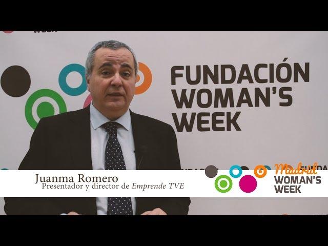 Juanma Romero insta a participar en Madrid Womans Week 2018