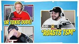TFUE & CLOAKZY CANT STOP LAUGHING WHEN COURAGE ROASTS TSM!