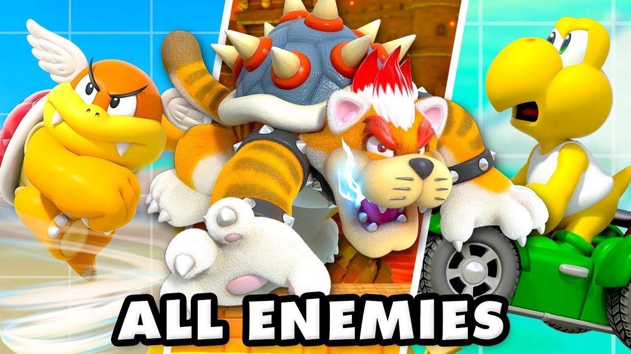 Super Mario Maker 2 All Enemies