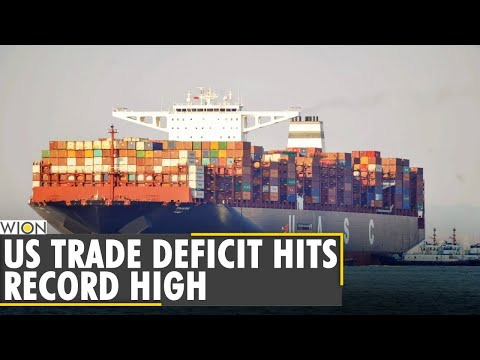 World Business Watch: US trade deficit hits record $74.4 billion in March | English News | WION